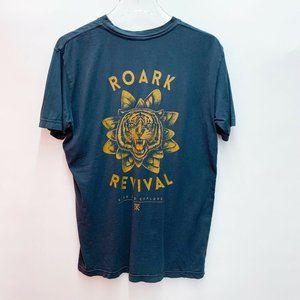 Roark Revival Tiger Monsoon Church T-Shirt Men's S